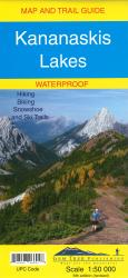 Kananaskis Lakes Map and Trail Guide (waterproof) by Gem Trek