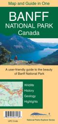 Banff National Park Canada Map and Guide in One by Gem Trek