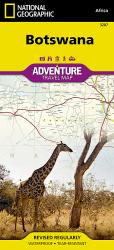 Botswana Adventure Map 3207 by National Geographic Maps