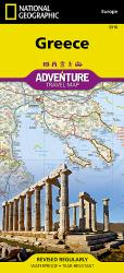 Greece Adventure Map 3316 by National Geographic Maps