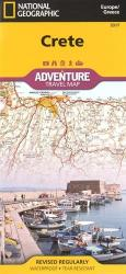 Crete, Greece Adventure Map 3317 by National Geographic Maps