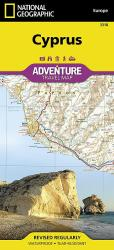 Cyprus AdventureMap by National Geographic Maps
