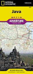Java Adventure Map 3020 by National Geographic Maps