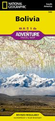 Bolivia Adventure Map 3406 by National Geographic Maps