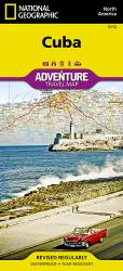 Cuba Adventure Map 3112 by National Geographic Maps