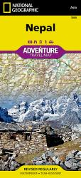 Nepal Adventure Map 3000 by National Geographic Maps