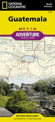 Guatemala Adventure Map by National Geographic Maps
