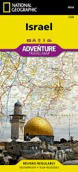 Israel Adventure Map 3208 by National Geographic Maps