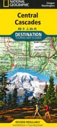 Cascades, Central DestinationMap by National Geographic Maps