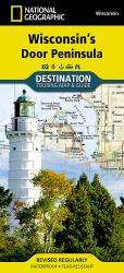 Wisconsin's Door Peninsula DestinationMap by National Geographic Maps