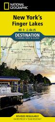 New York's Finger Lakes DestinationMap by National Geographic Maps