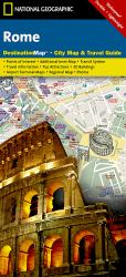 Rome, Italy DestinationMap by National Geographic Maps