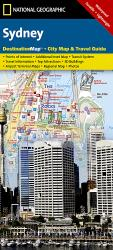 Sydney, Australia DestinationMap by National Geographic Maps