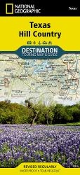 Texas Hill Country DestinationMap by National Geographic Maps