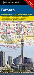 Toronto, Ontario DestinationMap by National Geographic Maps
