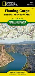 Flaming Gorge NRA and Eastern Uintas, Utah, Map 704 by National Geographic Maps