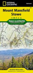 Mount Mansfield and Stowe, Map 749 by National Geographic Maps