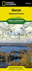 Huron National Forest, Map 757 by National Geographic Maps