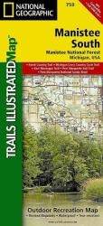 Manistee National Forest, South, Map 759 by National Geographic Maps