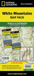 White Mountains National Forest, Map Pack Bundle by National Geographic Maps