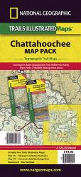 Chattahoochee National Forest, Map Pack Bundle by National Geographic Maps