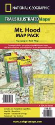 Mt. Hood, Map Pack Bundle by National Geographic Maps