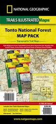 Tonto National Forest, Map Pack Bundle by National Geographic Maps