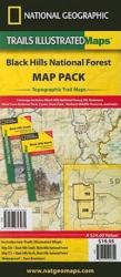 Black Hills National Forest, Map Pack Bundle by National Geographic Maps