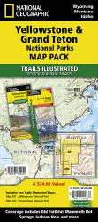 Yellowstone and Grand Teton National Parks, Map Pack Bundle by National Geographic Maps