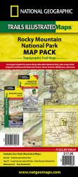 Rocky Mountain National Park, Map Pack Bundle by National Geographic Maps