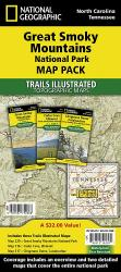 Great Smoky Mountains National Park, Map Pack Bundle by National Geographic Maps