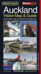 Auckland, New Zealand, Visitor Map and Guide by Kiwi Maps