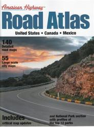United States, Canada and Mexico Highway Road Atlas, small version by Mapping Specialists Ltd.