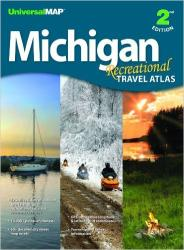 Michigan, Recreational Travel Atlas by Kappa Map Group