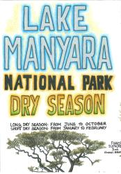 Lake Manyara National Park by GT Maps