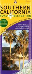 California, Southern, Road and Recreation by Great Pacific Recreation & Travel Maps