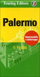 Palermo, Italy Pocket Map by Touring Club Italiano