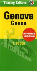 Genova, Italy Pocket Map by Touring Club Italiano