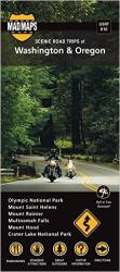 Oregon and Washington, Regional Scenic Tours by MAD Maps