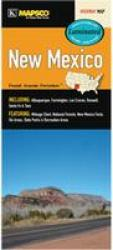 New Mexico Laminated Road Map by Mapsco, Inc.