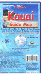 Hawaii Map, Kauai Dive Map, folded, 2012 by Frankos Maps Ltd.