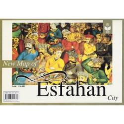 New map of Esfahan city by Shirkat-i Gita Shinasi