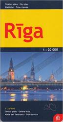 Riga City Map by Jana Seta