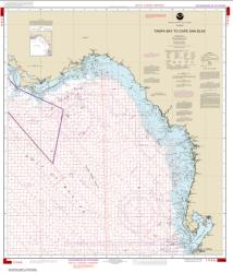 Tampa Bay to Cape San Blas (Oil and Gas Leasing Areas) (1114A-36) by NOAA