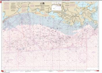 Mississippi River to Galveston (Oil and Gas Leasing Areas) (1116A-78) by NOAA