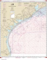 Galveston to Rio Grande (Oil and Gas Leasing Areas) (1117A-43) by NOAA