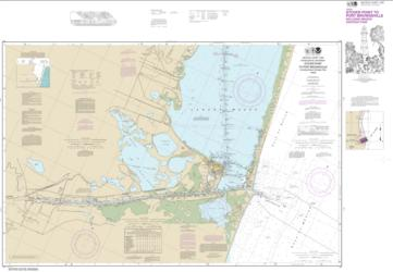 Intracoastal Waterway Stover Point to Port Brownsville, including Brazos Santiago Pass (11302-34) by NOAA