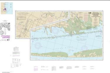 Intracoastal Waterway Laguna Madre - Chubby Island to Stover Point, including The Arroyo Colorado (11303-22) by NOAA