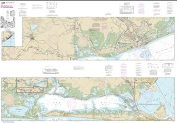 Intracoastal Waterway Galveston Bay to Cedar Lakes (11322-33) by NOAA