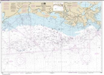 Mississippi River to Galveston (11340-78) by NOAA